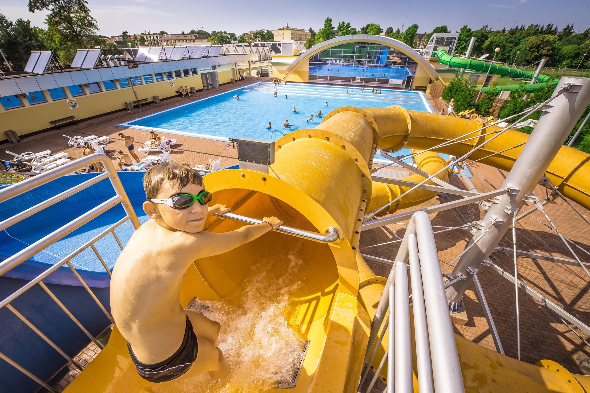 Ustronie Morskie-obóz tenisowo-pływacki